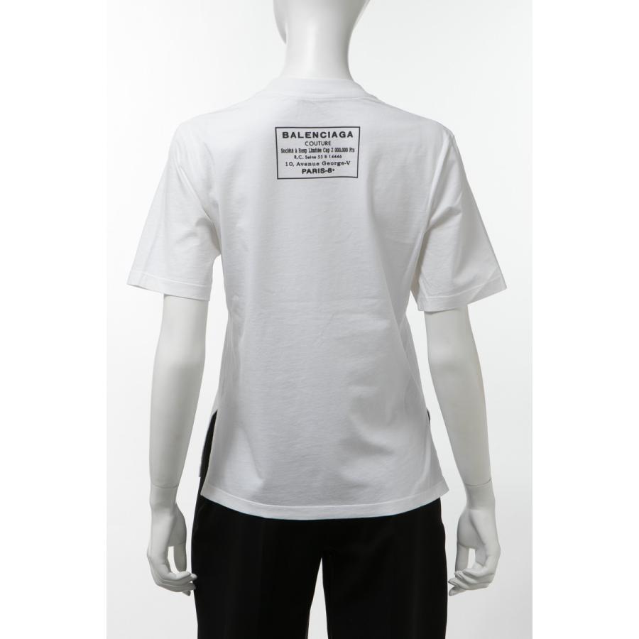 夏セール開催中 MAX80%OFF! バレンシアガ BALENCIAGA Tシャツ 半袖 丸首 クルーネック レディース 426607 TRK09 ホワイト, パーツビレッジハーテン 1f5abf7d