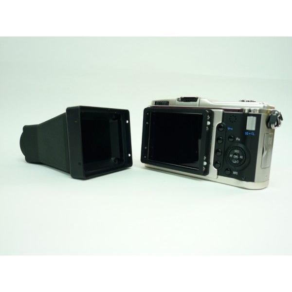 DIGISCO.COM デジタルカメラ用ルーペ付3インチ液晶モニターフード HD-30WMC digisco-ya 03