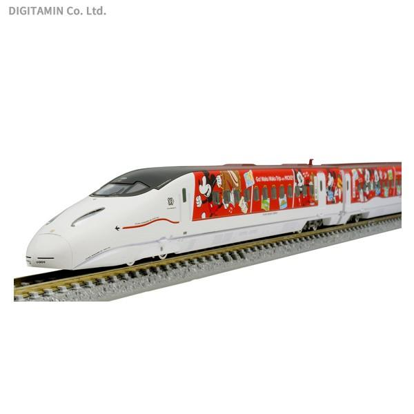 送料無料◆97915 TOMIX トミックス 限定 800 1000系 (JR九州 Waku Waku Trip 新幹線 ミッキーマウス&ミニーマウスデザイン) 6両 Nゲージ 鉄道模型 【12月予約】