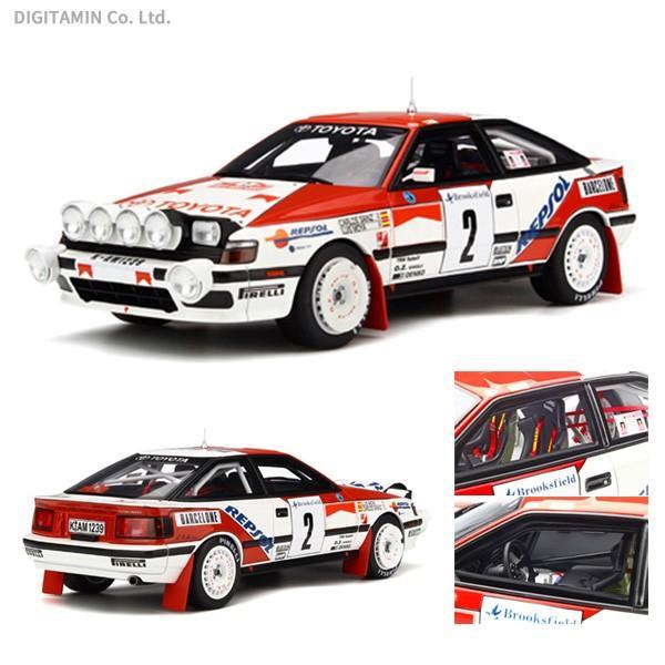 OttO mobile 1/18 ミニカー トヨタ セリカ ST165 モンテカルロラリー 1991 #3 C.Sainz (ホワイト/レッド) OTM239(ZM43217)