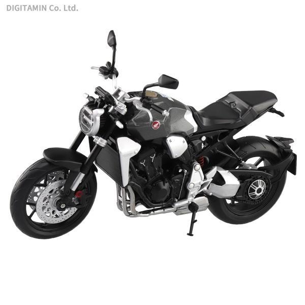 アオシマスカイネット 1/12 Honda CB1000R ソードシルバーメタリック 完成品 (ZM79351)|digitamin