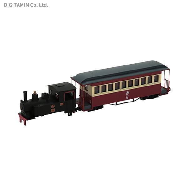 292746 トミーテック 鉄道コレクション ナローゲージ80 猫屋線 蒸気機関車+客車(旧塗装) トータルセット 1/80スケール 鉄道模型(ZN58072)