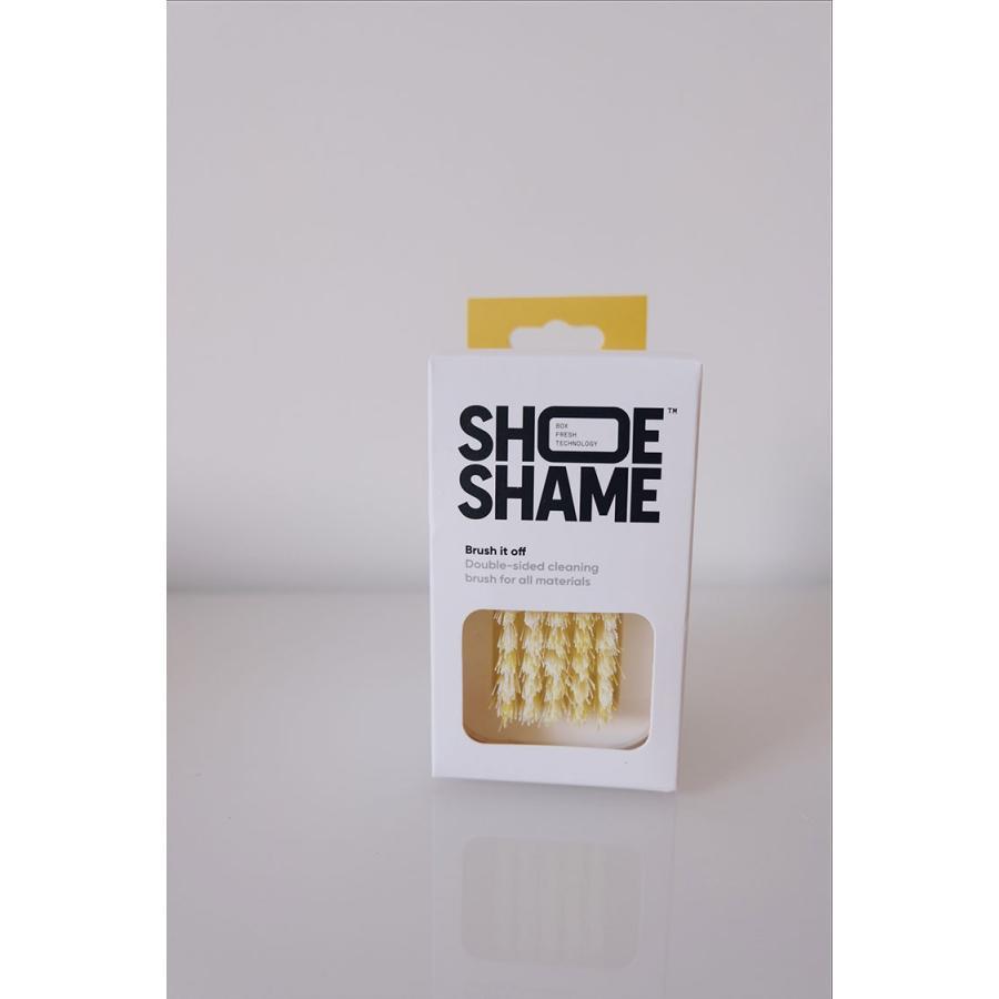 スニーカークリーナー シューシェイム ブラッシュ イット オフ ブラシ シューケア用品 シュークリーナー 靴磨き SHOE SHAME BRUSH IT OFF|digstore|02