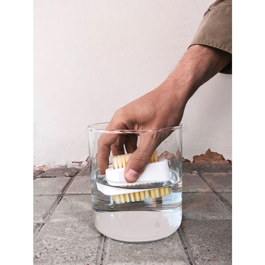 スニーカークリーナー シューシェイム ブラッシュ イット オフ ブラシ シューケア用品 シュークリーナー 靴磨き SHOE SHAME BRUSH IT OFF|digstore|04