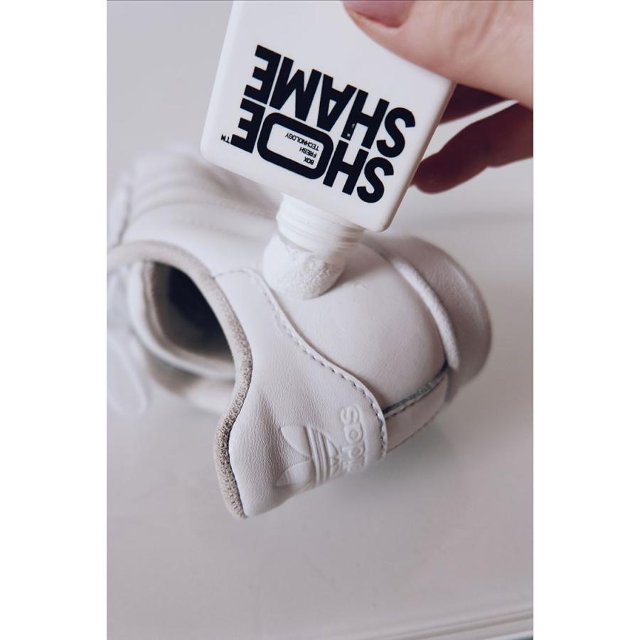 スニーカークリーナー シューシェイム リメンバーホワイト シューケア用品 シュークリーナー 靴磨き SHOE SHAME Remember white|digstore|04