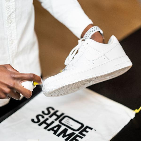 防水スプレー 靴 スニーカー シューシェイム シューシールド ラピッド シューケア用品 保護スプレー 200ml SHOE SHAME Shoe shield rapid|digstore|03