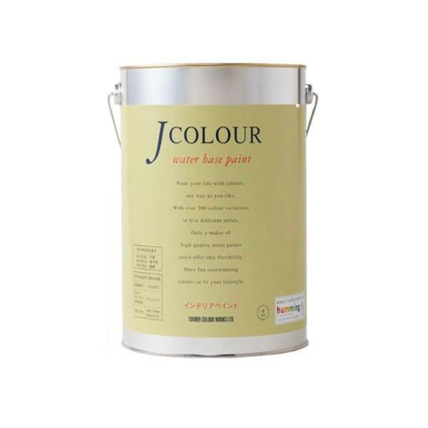 ターナー色彩 水性インテリアペイント Jカラー 4L イエローパフ JC40BL3B(BL-3b)