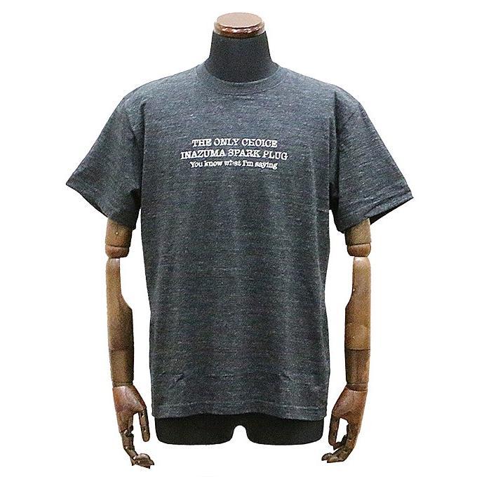 エアフィッシュ AirFish INAZUMAPLUG Tシャツ ヘザーブラック|dimension-3
