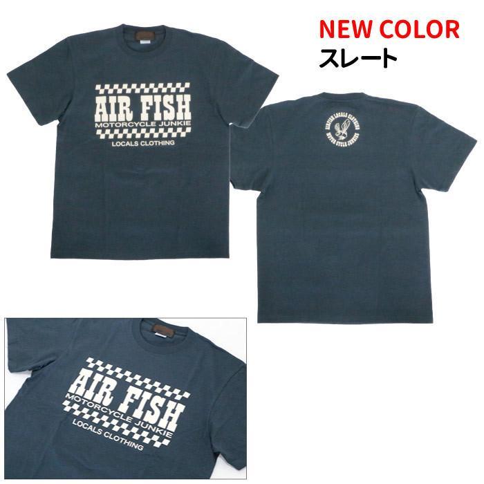 エアフィッシュ AirFish エアフィッシュ ロゴ Tシャツ T-AF-20|dimension-3|02