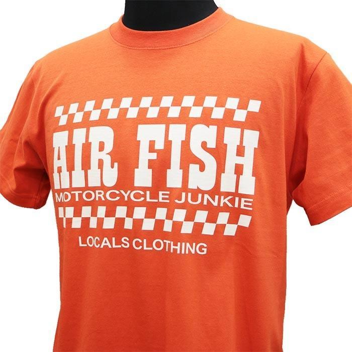 エアフィッシュ AirFish エアフィッシュ ロゴ Tシャツ T-AF-20|dimension-3|05