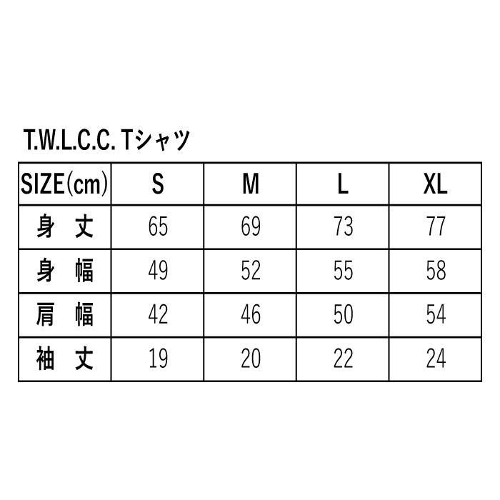 エアフィッシュ AirFish T.W.L.C.C. Tシャツ T-TWLCC-20|dimension-3|06