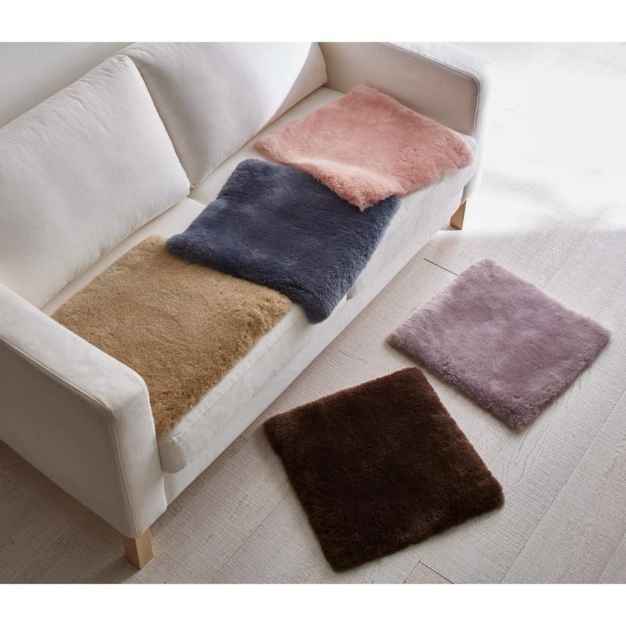 カーテン 敷物 約45×120cm·チェアパッド(1枚)(洗える短毛35mmAグレードムートン チェアパッド 約45cm×45·100·120·150cm(4サイズ)) H70611