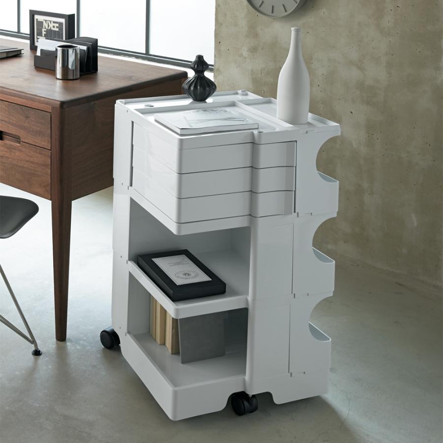 Boby Wagon/ボビーワゴン 2段2トレイ [B-LINE・ビーライン/デザイン:ジョエ・コロンボ] H53801