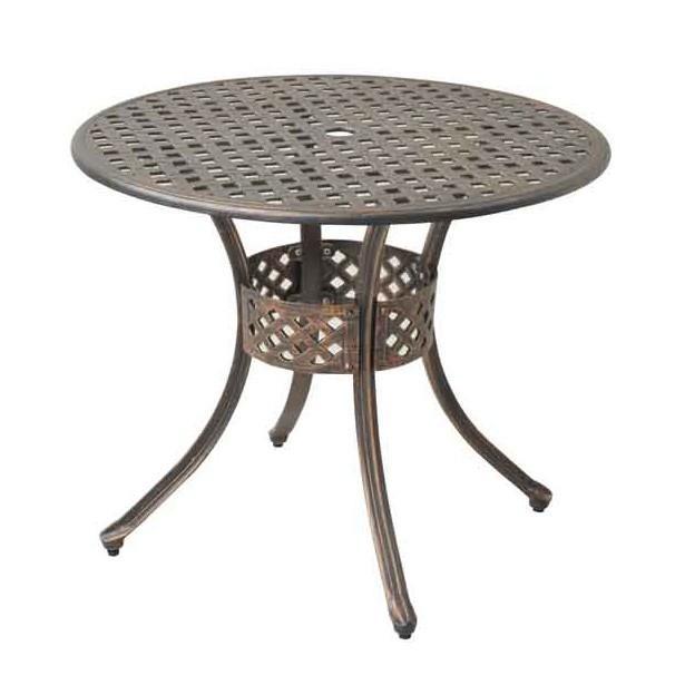 アンティーク調 ガーデンファニチャー ラウンドテーブル G52623