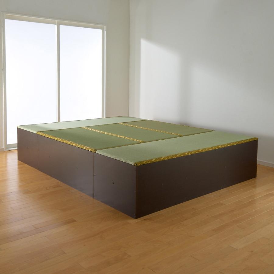 ユニット畳シリーズ お得なセット 6畳セット 幅180奥行240cm 高さ45cm 713440