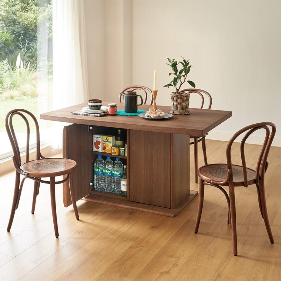 Portale/ポルターレ 収納庫付きテーブル 幅170cm H46502