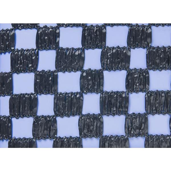 ダイオ化成 市松遮光ネット黒 2m×50m 遮光率 約50%