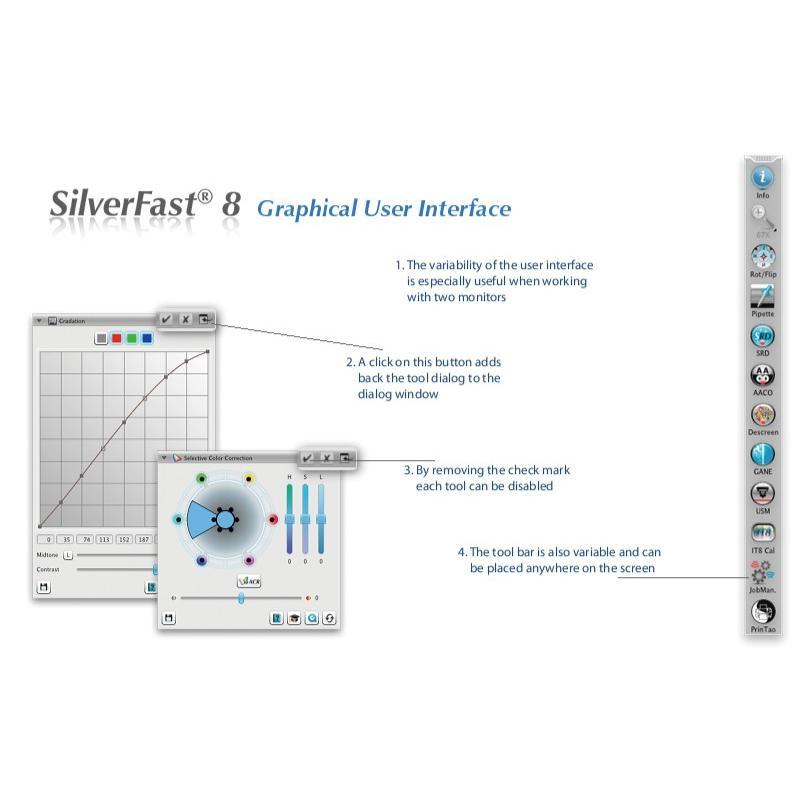 EPSON GT-X830用SilverFast  SE Plus→Ai Studio アップグレード版 写真・画像の管理編集ソフト|dipah-shop|14