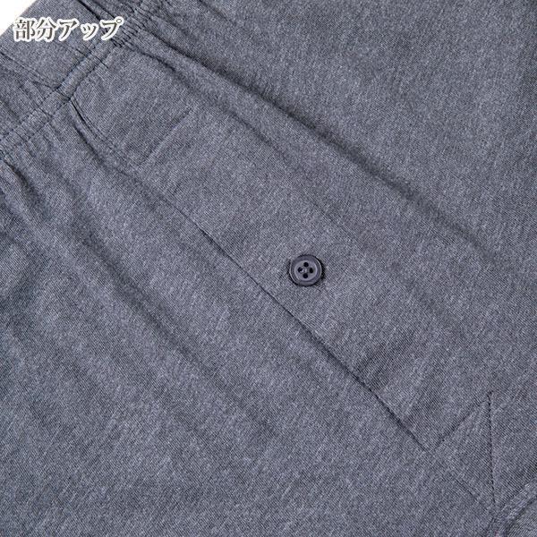 メンズニットトランクス 綿100% 単品 前開き 前あき コットン 下着 1枚 黒 紺 灰色 無地 ブラック ネイビー 杢グレー 男性用 おすすめ 人気 direct-factory 14