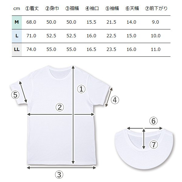 丸首コットンTシャツ 綿100% メンズ半袖 白い 白 無地 ホワイト おすすめ M L LL 直facオリジナル商品 direct-factory 09