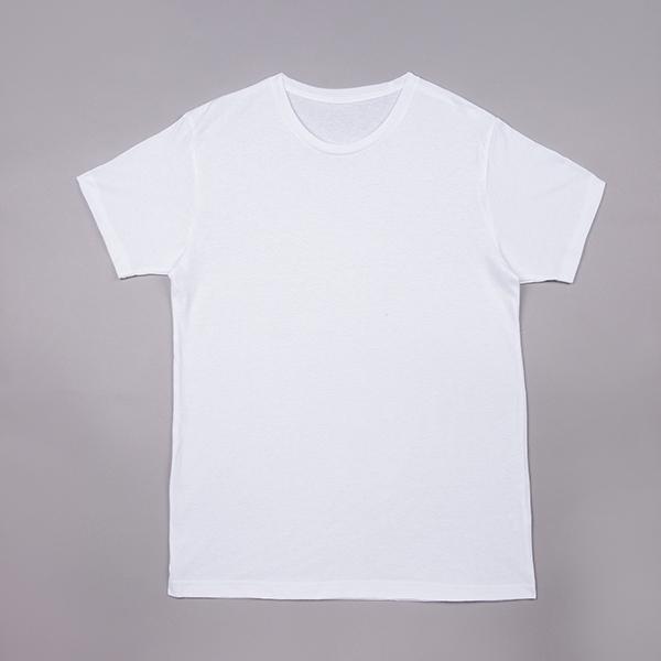 丸首コットンTシャツ 綿100% メンズ半袖 白い 白 無地 ホワイト おすすめ M L LL 直facオリジナル商品 direct-factory 08
