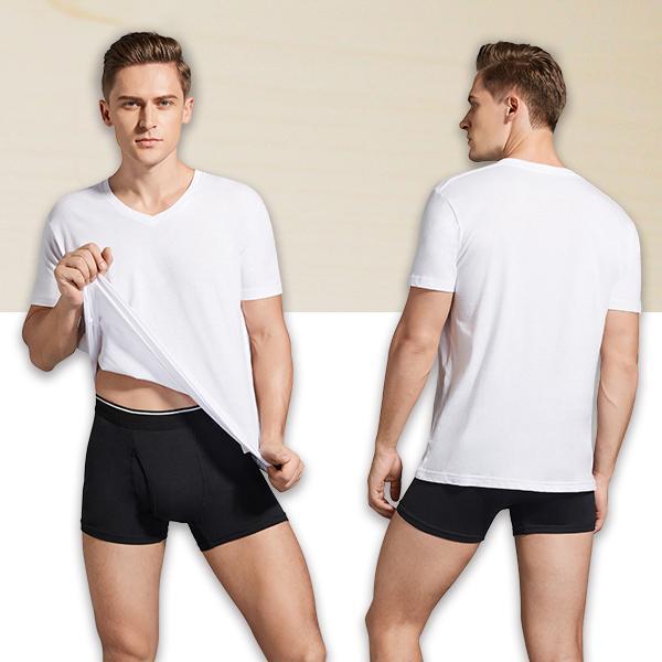 V首コットンTシャツ 綿100% メンズ半袖 白い 白 Vネック 無地 ホワイト おすすめ M L LL 直facオリジナル商品|direct-factory|07