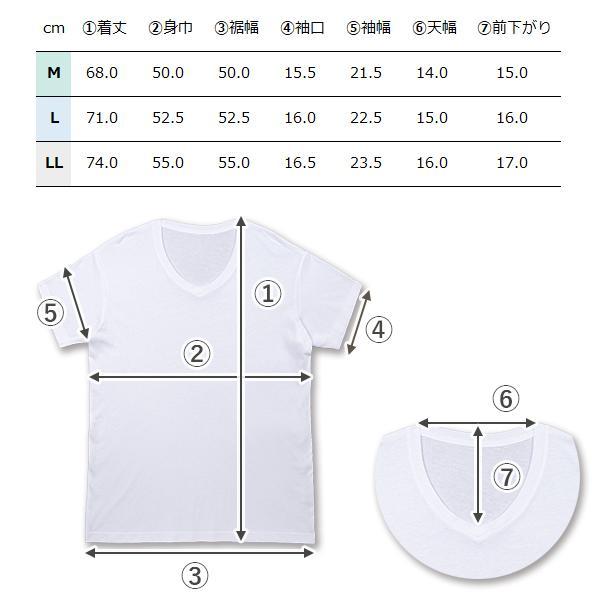V首コットンTシャツ 綿100% メンズ半袖 白い 白 Vネック 無地 ホワイト おすすめ M L LL 直facオリジナル商品|direct-factory|09