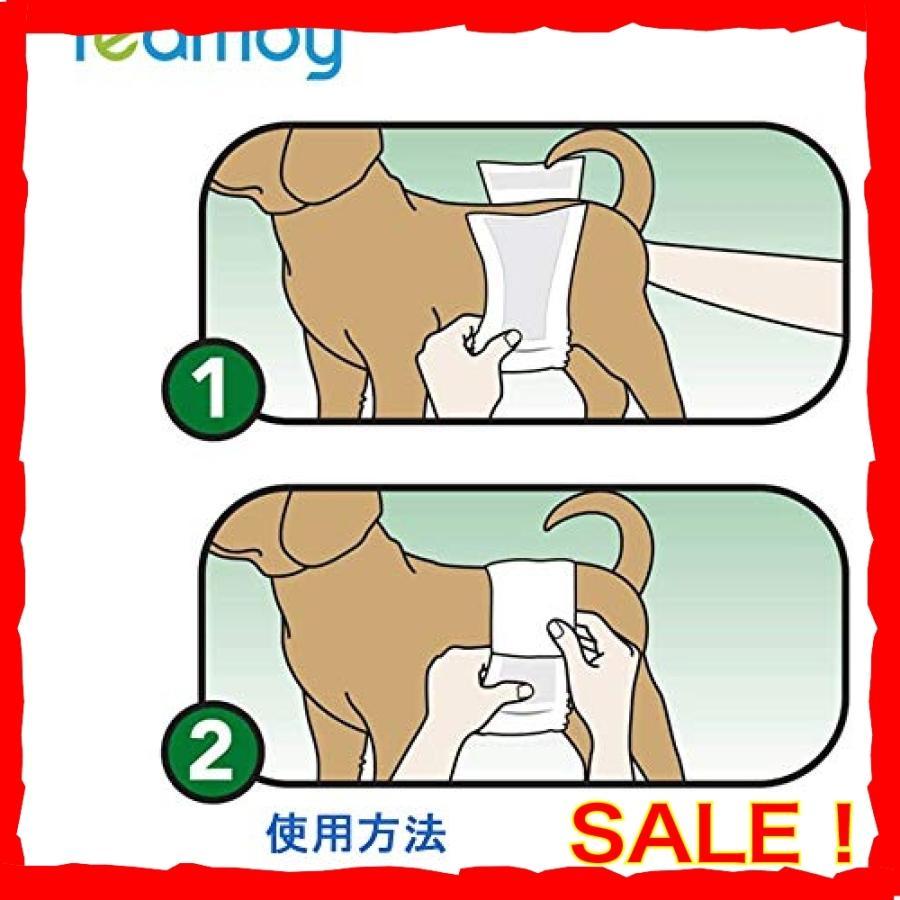 Teamoy 犬マナーベルト 3点セット オス メッシュ裏地 吸収層付き 防水加工生地 ウェストサイズ調整可能 マーキ diva0210 06