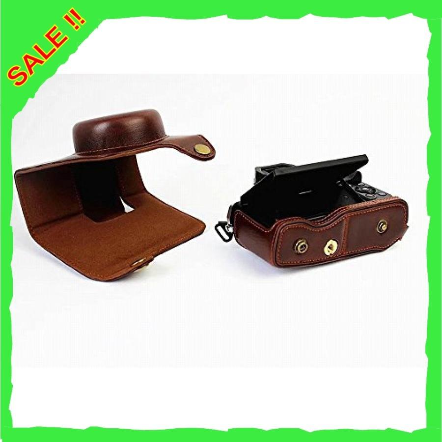 オリンパス OM-D E-M10 Mark III OM D E M10 Mark III 14-42mm カメラケース、koowl 手で作った最高級のpu革の全身カメラ保護殻|diva0210|04