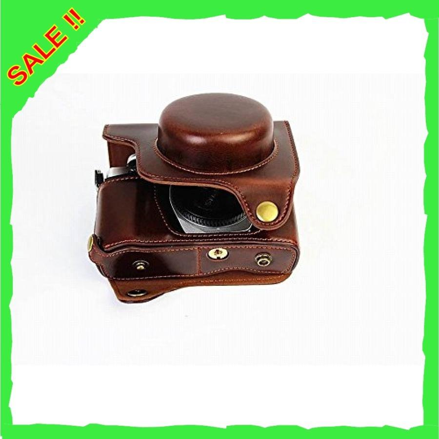 オリンパス OM-D E-M10 Mark III OM D E M10 Mark III 14-42mm カメラケース、koowl 手で作った最高級のpu革の全身カメラ保護殻|diva0210|06