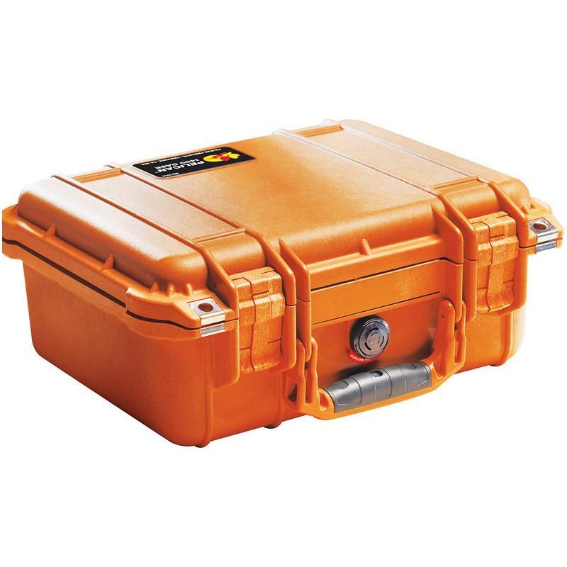 【 新品 】 PELICAN(ペリカン) プロテクターケース 1450 フォームなし ORANGE [オレンジ] [1450-001-150] スキューバダイビング ハードケース, 児玉郡 0aa4f33a