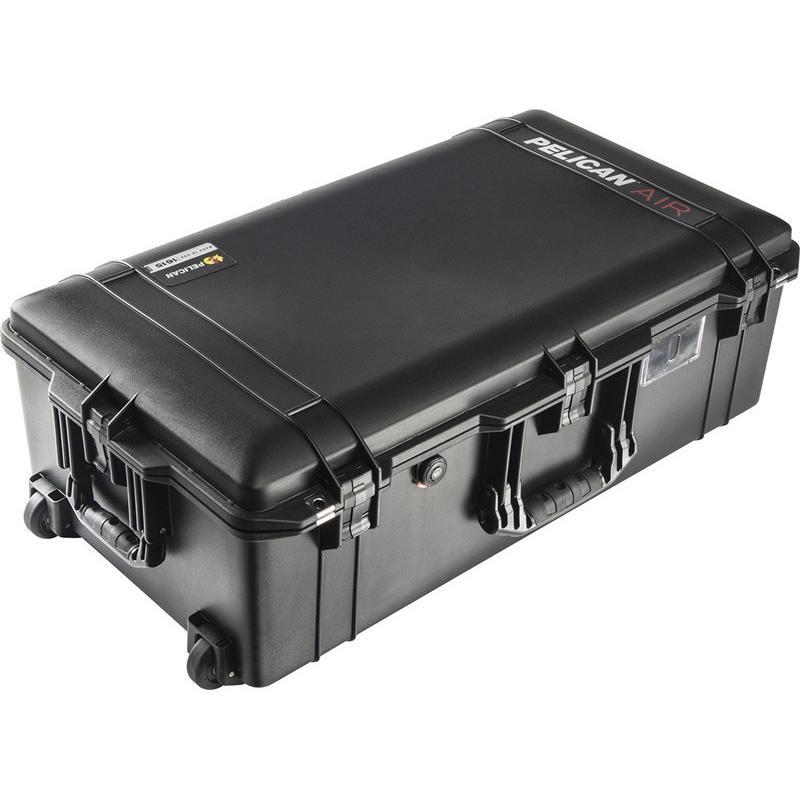 最愛 PELICAN(ペリカン)エアケース 1615 フォームなし BLACK [ブラック] [016150-0010-110] キャスター付き 機内持ち込みサイズ 収納可能な延長ハンドル, モノギャラリー 00e00cf1