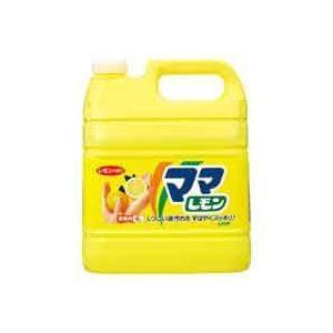 (まとめ)ライオン ママレモン 業務用 4L〔×30セット〕