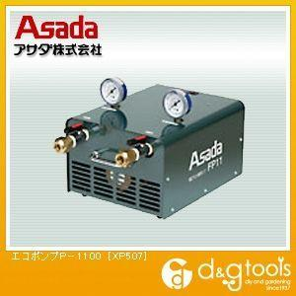 アサダ(ASADA) エコポンプP-1100フロン回収洗浄ポンプ XP507