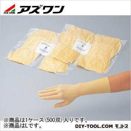 アズワン クリーンノール手袋 エコノタイプ L 6-906-11 1ケース(500双入)