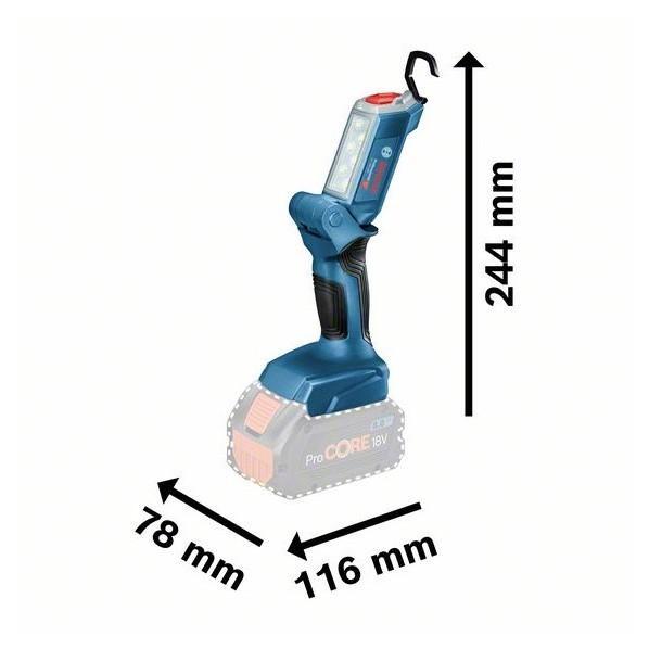 ボッシュ 18Vコードレスライト(本体のみ) 116x78x163mm GLI18V-300 diy-tool 02