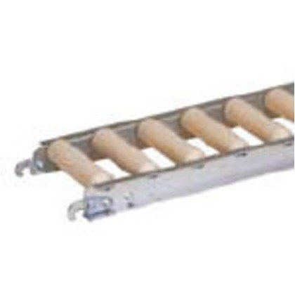 セントラル 樹脂ローラコンベヤJRAU4208型200W×75P×2000L JRAU4208-200720