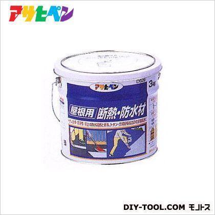 アサヒペン 屋根用断熱・防水材 銀 3kg D029 1 :d029:DIY FACTORY ONLINE SHOP ...