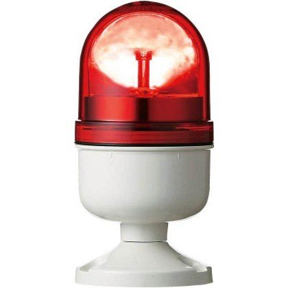 デジタル アローシリーズ赤φ84LED回転灯100V LRP-100R-A