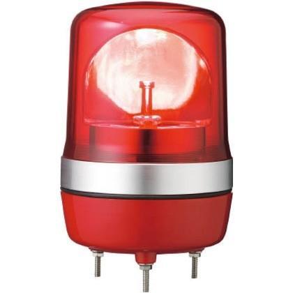 デジタル アローシリーズ赤φ106LED回転灯100V LRSC-100R-A
