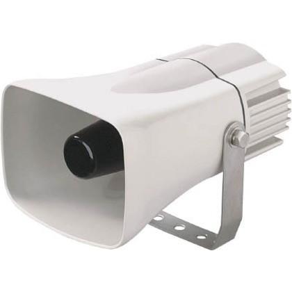デジタル 白電子音警報器(ホーン)10音AC ST-25CS-ACW