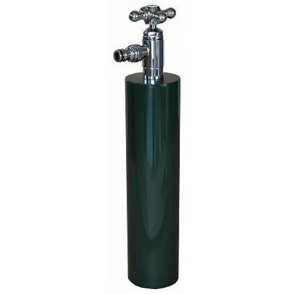 SENSUI(泉水) ウォーターポール散水栓 ターン ダークグリーン φ76.3×H687mm 359DG ガーデン水栓