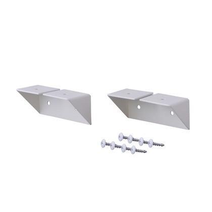 LABRICO(ラブリコ) 棚受 シェルフサポート アイアン ホワイト 幅8.6×奥行3.6×高さ3.6cm IXO-2 1|diy-tool