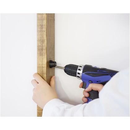 LABRICO(ラブリコ) 伸縮ロッド S アイアン ブラック 幅50〜70×奥行3×高さ3cm IXK-7 ラブリコ・ガーデニング・アイアン素材 1|diy-tool|02