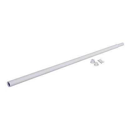 LABRICO(ラブリコ) 伸縮ロッド アイアン ホワイト L IXO-9 ラブリコ・ガーデニング・アイアン素材 1個|diy-tool