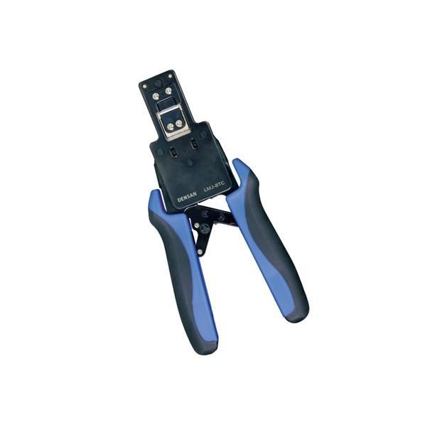 デンサン モジュラー圧着工具(貫通タイプ) 205mm LMJ-8TC 1個
