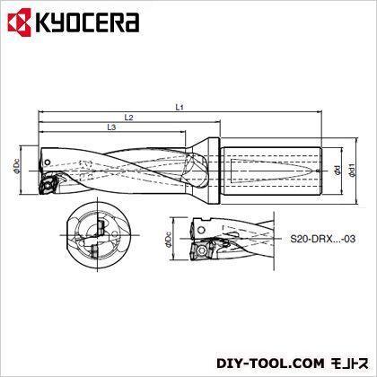 京セラ 210 x 39 x 39 mm S25-DRX155M-4-05