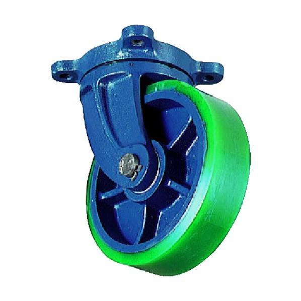 京町産業車輛 ダクタイル自在金具付ウレタン車輪(1個) FHJ250X65