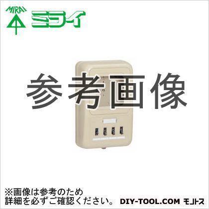 未来工業 電力量計ボックス〈ELB付(2P30A・OC付)〉 WP2-203HKM