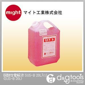 マイト工業 弱酸性電解液 SUS-B 20L